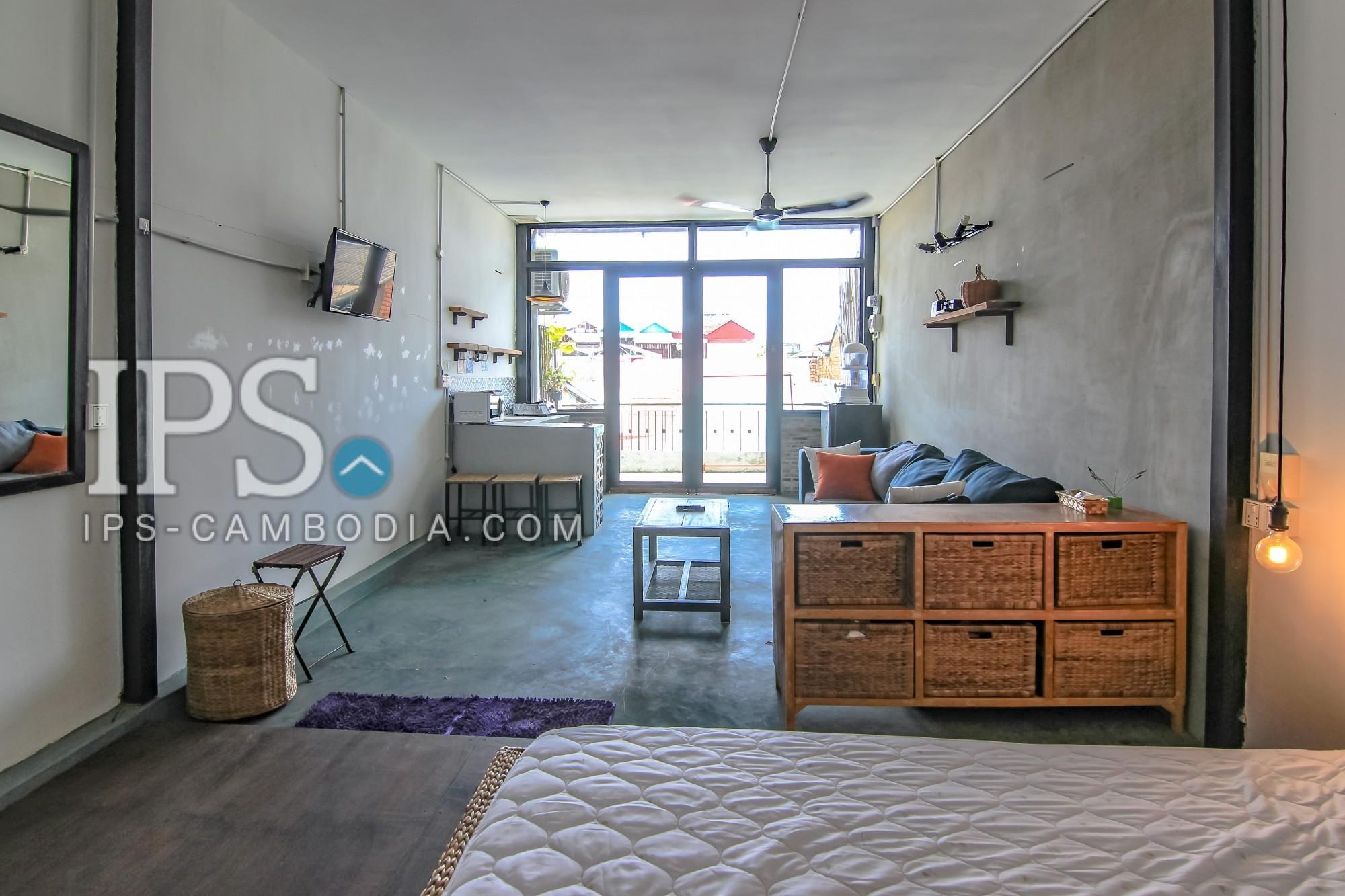 Studio room Apartment  For Rent - Riverside, Phnom Penh