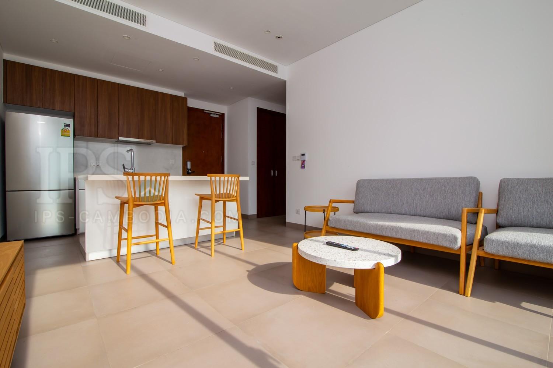 17th Floor-1 Bedroom Condo For Sale - Embassy Central, Phnom Penh