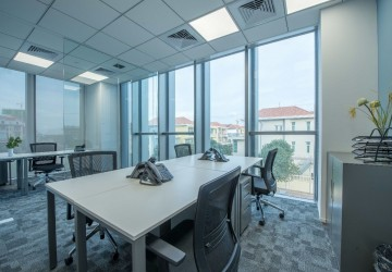 Diamond Island Co-Working Space For Rent - Tonle Bassac, Phnom Penh