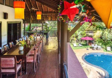 6 Bedroom Vacation Rental Business For Sale - Sala Kamreuk, Siem Reap