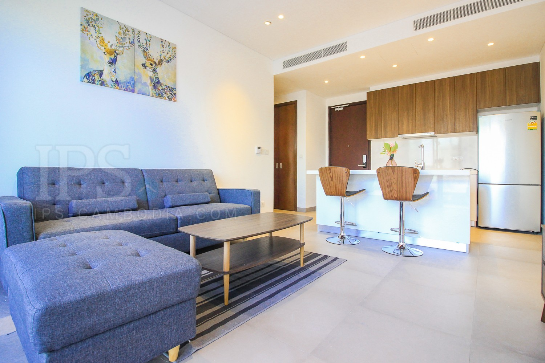 1 Bedroom Condo For Rent - BKK1, Phnom Penh