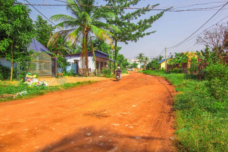 1,290 sq.m. Land For Sale - Chreav, Siem Reap
