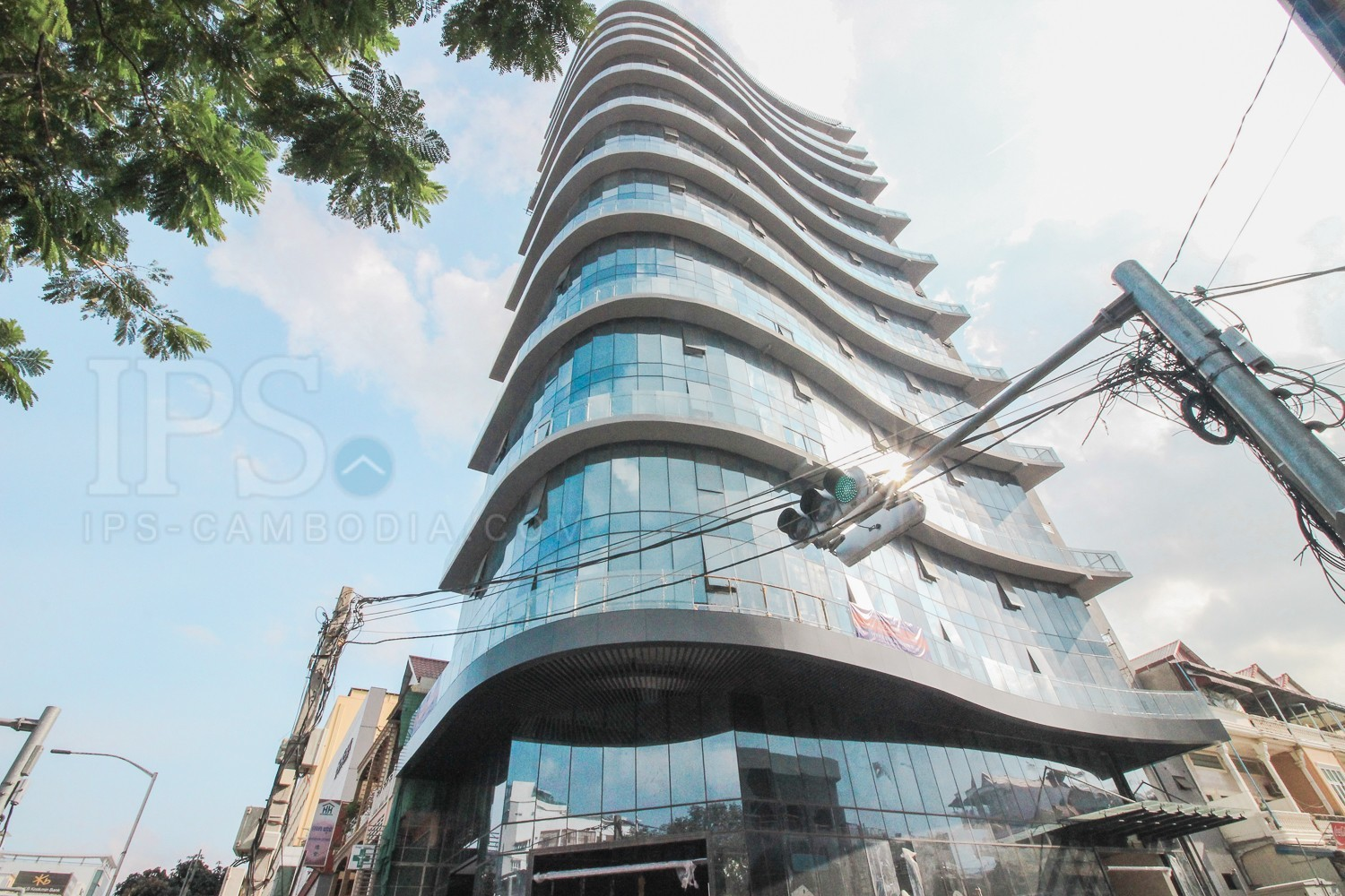 400 sq.m. Office Space For Rent - Tumnup Teuk, Phnom Penh