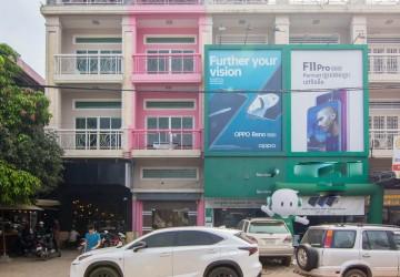 6 Bedroom Shophouse For Rent - Svay Dangkum, Siem Reap
