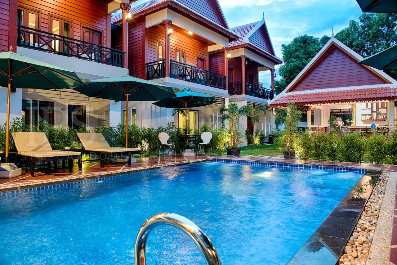 17 Room Boutique Hotel For Rent - Svay Dangkum, Siem Reap