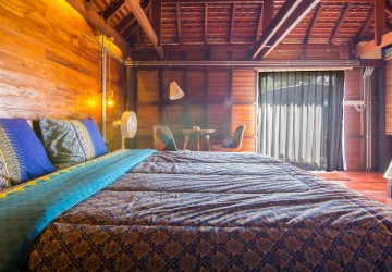 1 Bedroom Wooden Villa For Rent - Chreav, Siem Reap thumbnail