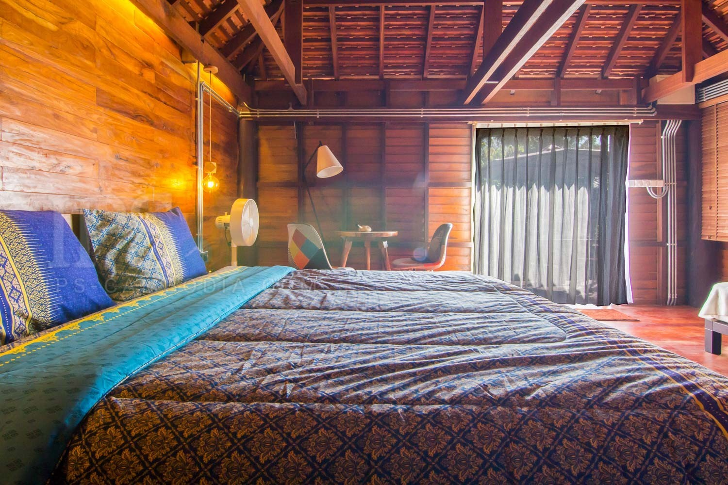 1 Bedroom Wooden Villa For Rent - Chreav, Siem Reap