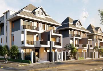 4 Bedroom Twin Villa For Sale - Toul Sangkae, Phnom Penh