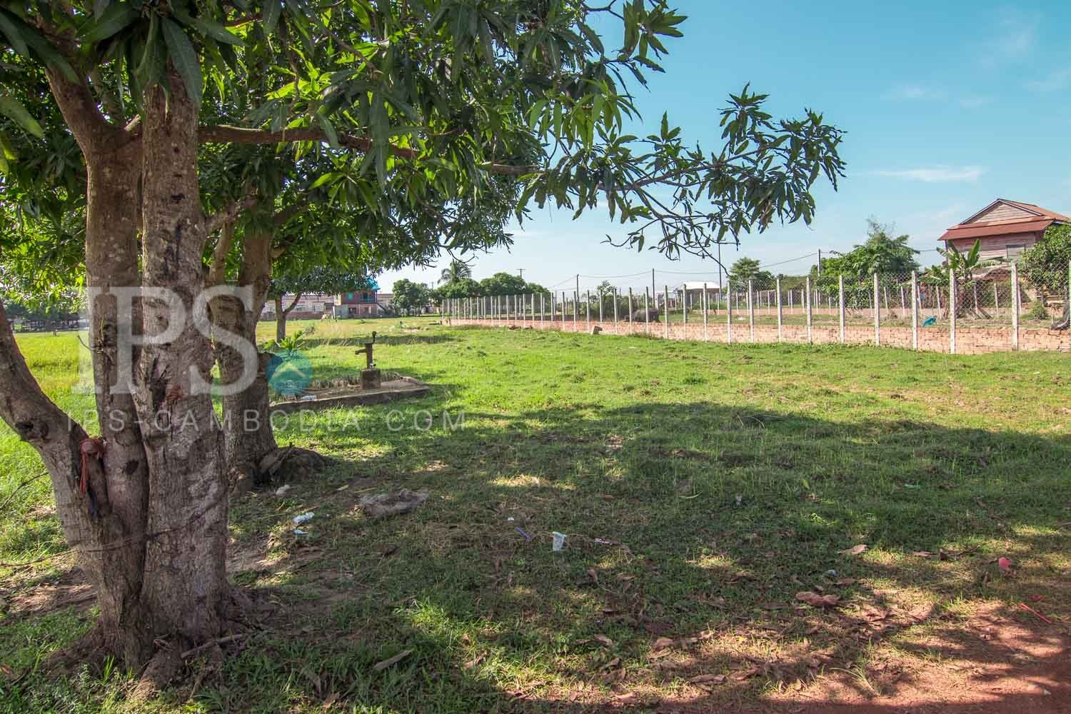 685 sq.m. Land For Sale - Bakong District, Siem Reap