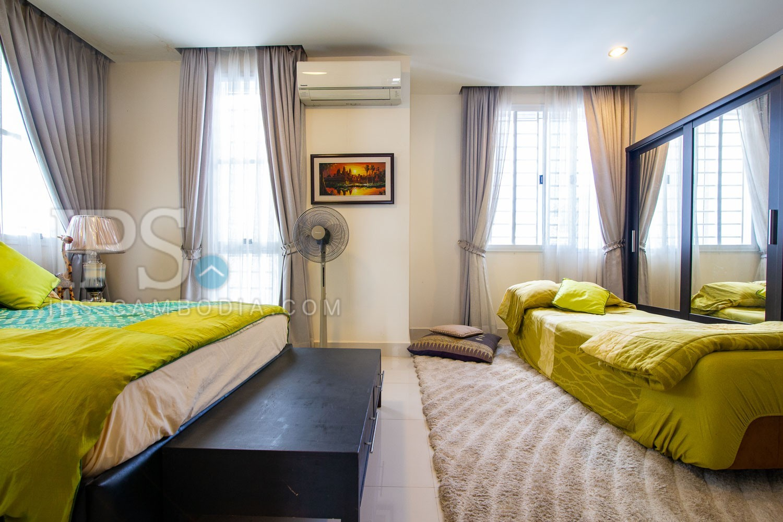 4 Bedroom Twin Villa For Rent - Chbar Ampov, Phnom Penh