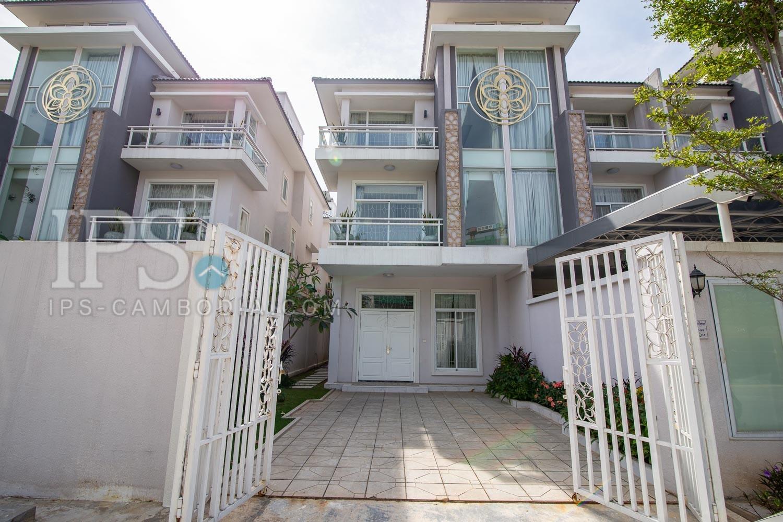 3 Bedroom Villa  For Rent - Sen Sok, Phnom Penh