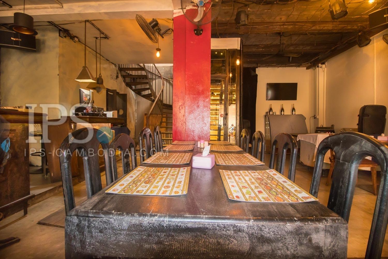 Restaurant Space For Rent - Old MarketPub Street, Siem Reap