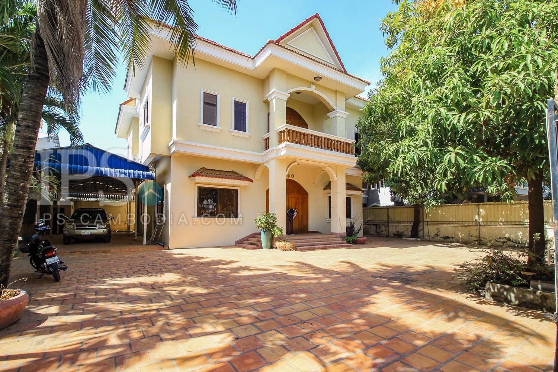 4 Bedroom Villa For Rent - Toul Kork, Phnom Penh