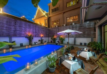 Business for Sale- 26 Bedroom Hotel Business- Slor Kram, Siem Reap