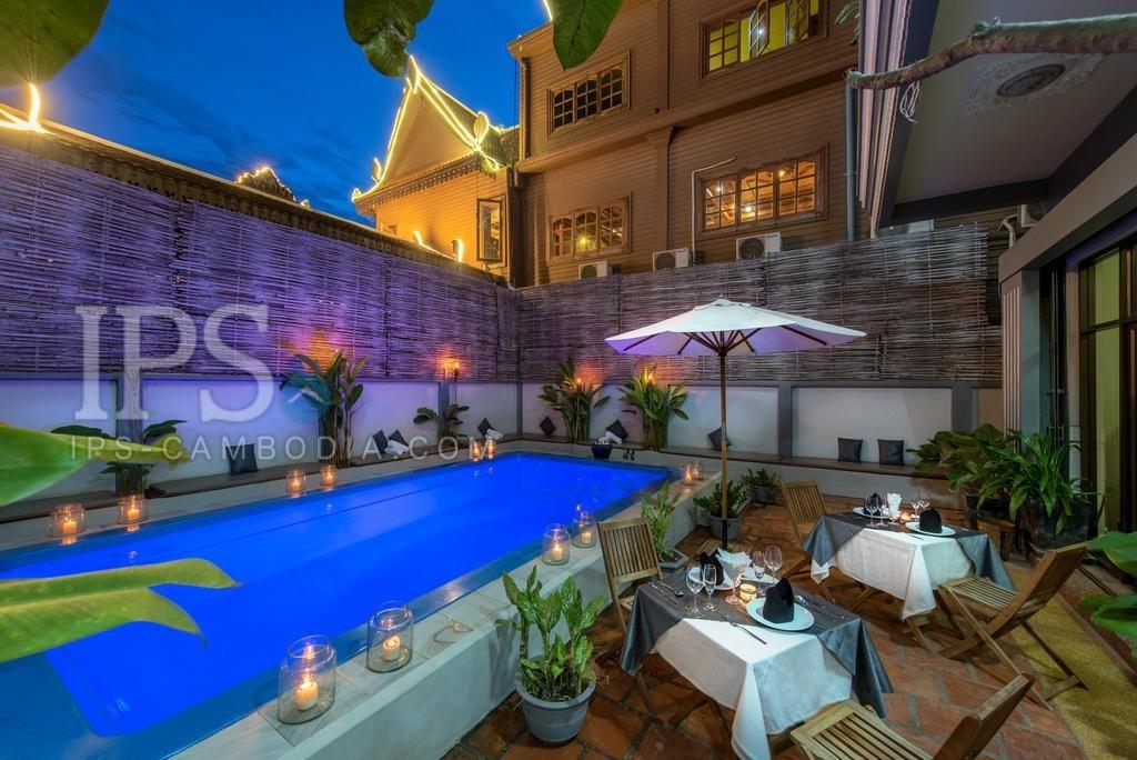 26 Room Hotel For Rent - Slor Kram, Siem Reap