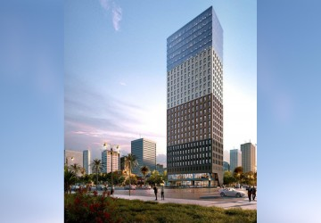168 Sqm Brand New Office Building For Rent - BKK1, Phnom Penh