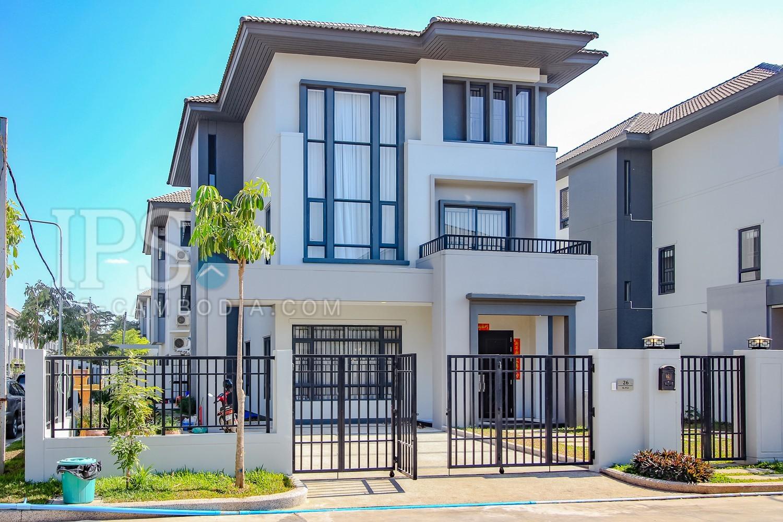 5 Bedroom Queen Villa For Rent - Russei Keo, Phnom Penh