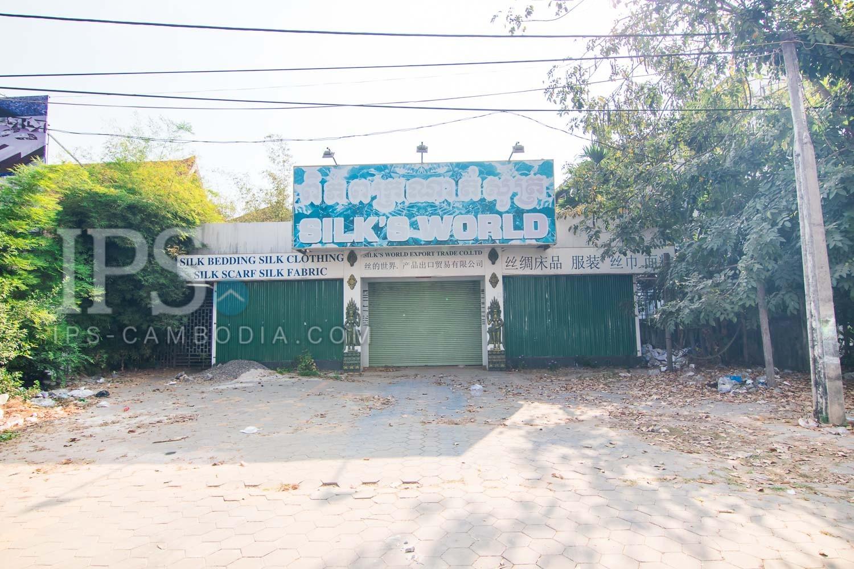 813 Sqm  Land For Rent - Slor Kram, Siem Reap