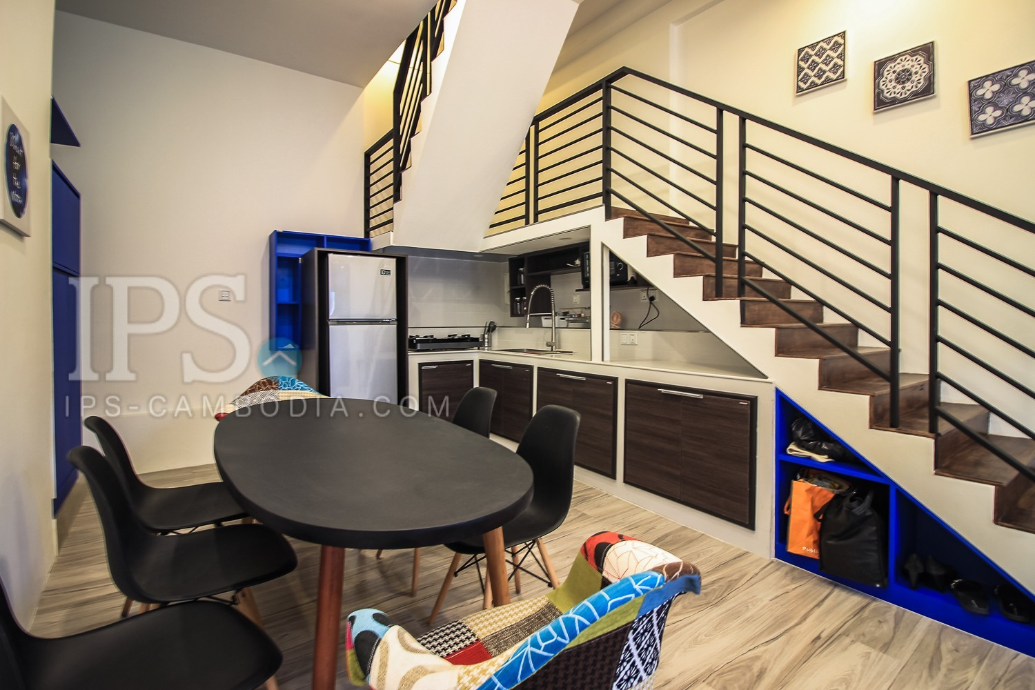 2 Bedroom Duplex Apartment For Rent - Near Post Office, Phnom Penh