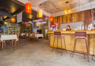 Restaurant and Land For Sale in Wat Bo / Wat Damnak, Siem Reap