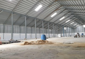 4,300 Sqm Warehouse For Rent In Chaom Chau,  Por Sen Chey, Phnom Penh