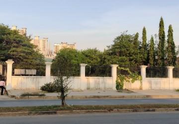 2,905 Sqm Commercial Land For Rent - Chroy Changva, Phnom Penh