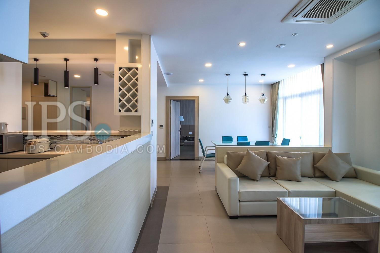3 Bedroom Services Apartment For Rent -  BKK1, Phnom Penh