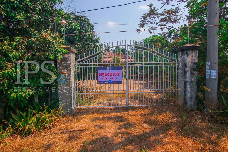 818 sq.m.  House & Land For Sale - Kouk Chak, Siem Reap