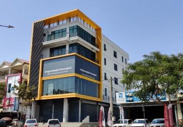 5 Floor Commercial Building For Rent - Por Sen Chey, Phnom Penh