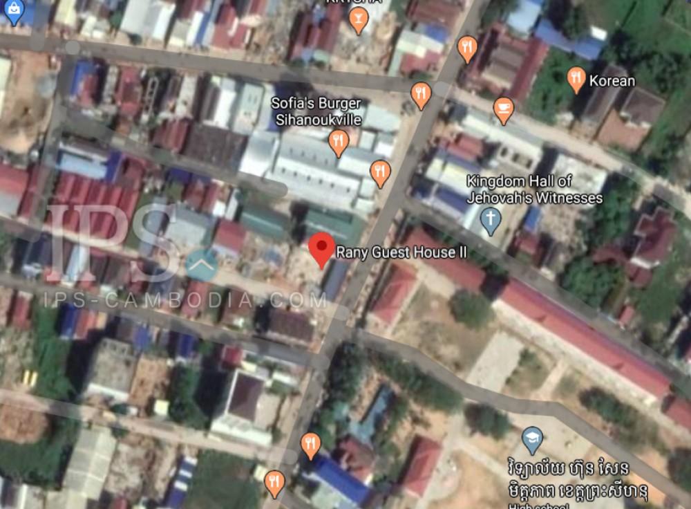 614 Sqm Land For Sale - Sangkat 4, Mittipheap, Sihanoukville