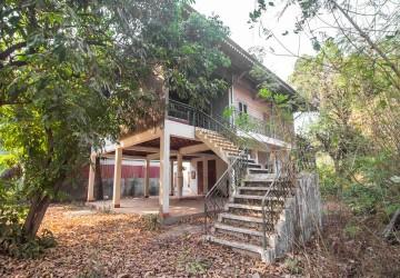 3 Bedroom Wooden House For Rent - Wat Damnak, Siem Reap