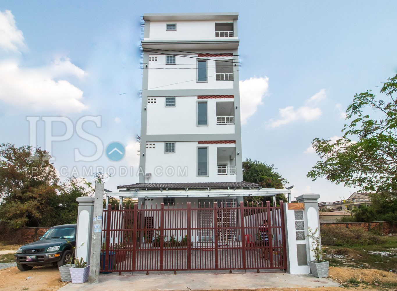4 Floors Apartment Building  For Sale - Sala Kamreuk, Siem Reap