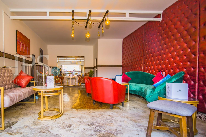 Restaurant And Bar Business For Sale - Tonle Bassac, Phnom Penh