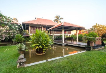 Oasis- inspired, French Luxury Villa for Sale - Svay Dangkum, Siem Reap