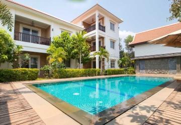 8 Unit Apartment Villa For Rent - Kouk Chak, Siem Reap