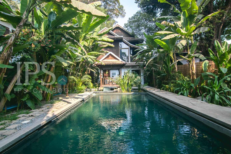 4 Bedroom Villa For Rent - Wat Po, Siem Reap