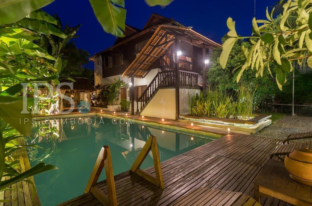 5 Bedroom Villa For Rent - Wat Bo, Siem Reap