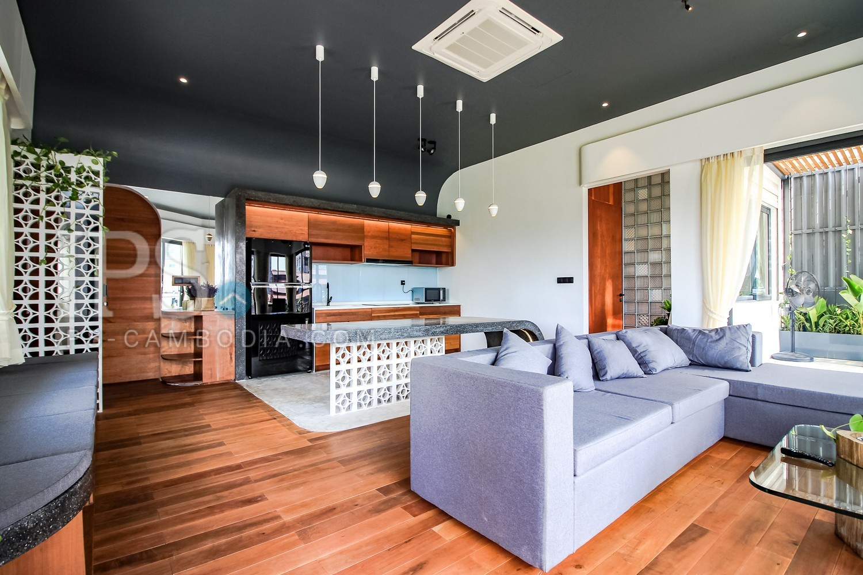 2 Bedroom Renovated Flat For Rent - Wat Phnom, Phnom Penh