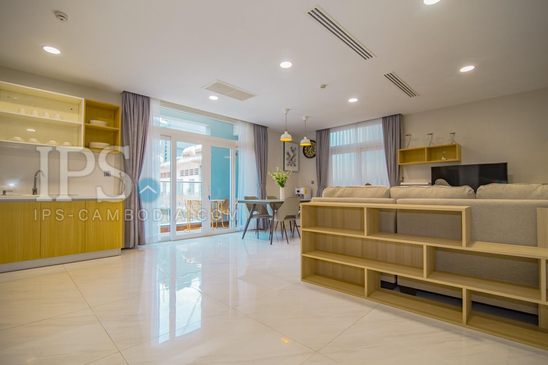 3 Bedroom Serviced Apartment For Rent - BKK2 , Phnom Penh