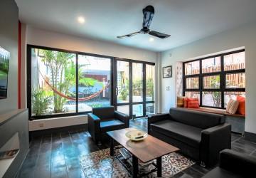 2 Bedroom Provincial Townshouse  For Rent - Tonle Bassac, Phnom Penh