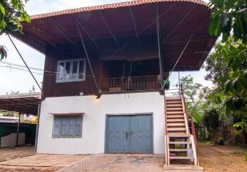 4 Bedroom Wooden House For Rent - Wat Bo, Siem Reap