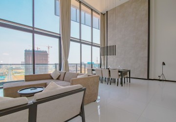 4 Bedroom Penthouse  For Rent -  Mitta pheap, Phnom Penh