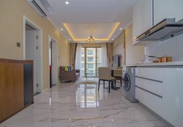 1 Bedroom plus 1 Studyroom Apartment For Rent -  Srah Chork, Phnom Penh