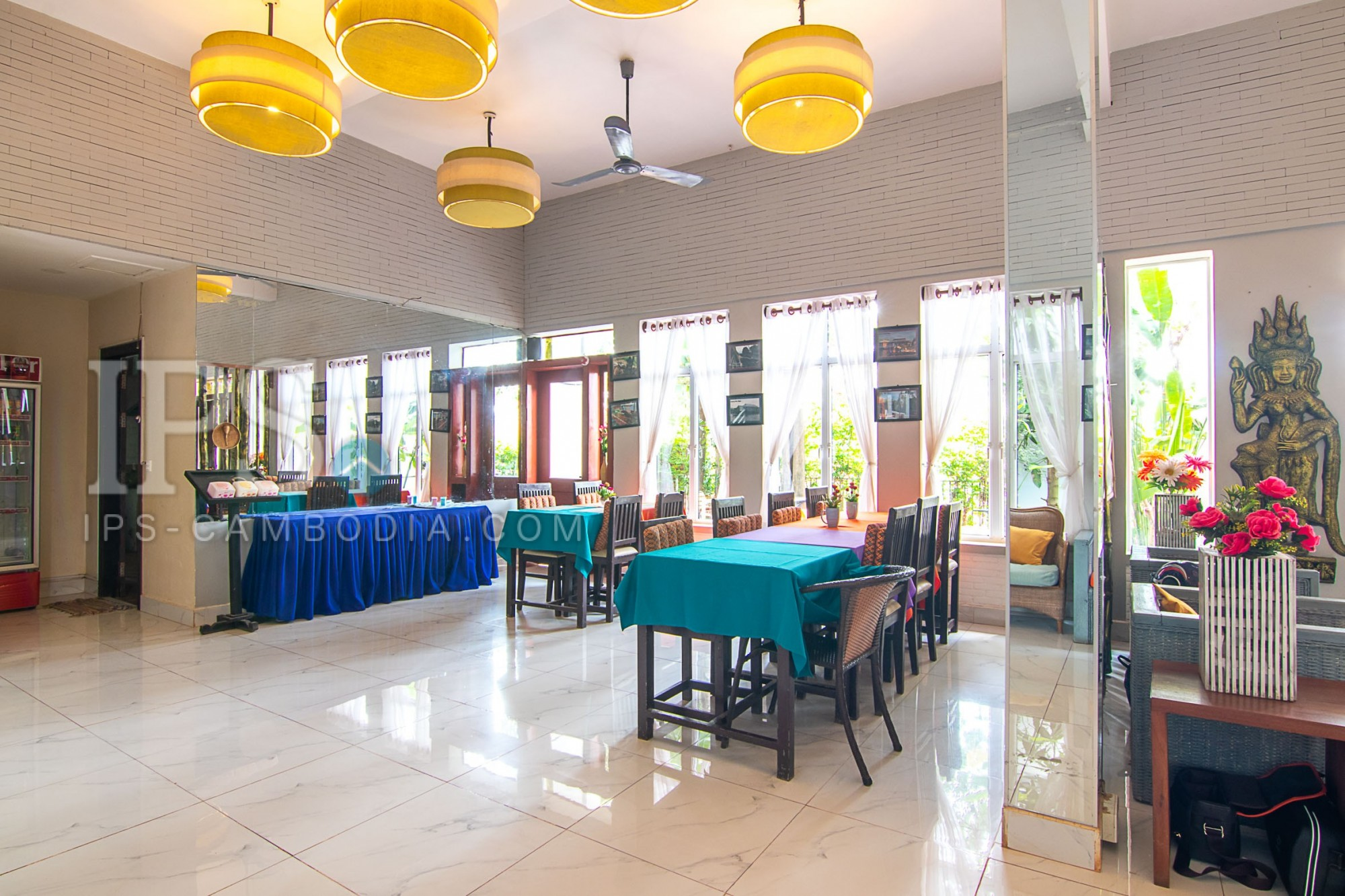 13 Room Boutique Hotel For Rent - Svay Dangkum, Siem Reap