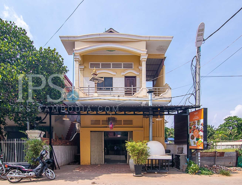 Restaurant Space For Rent - Night Market, Siem Reap