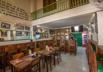 Restaurant Business For Sale - Old Market/Pub Street, Siem Reap