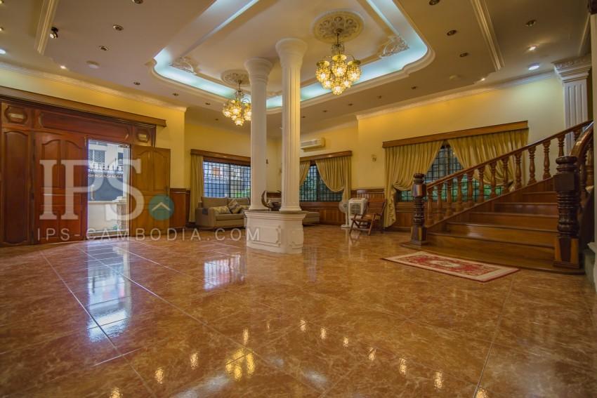 5 Bedroom Villa For Rent- Toul Svay Prey 2, Phnom Penh