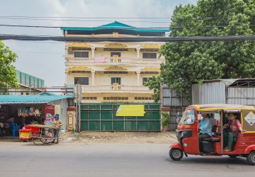 3,500 Sqm Building For Rent - Teuk Thla, Sen Sok, Phnom Penh