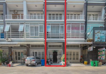 4 Bedroom Shop House For Sale - Sen Sok, Phnom Penh