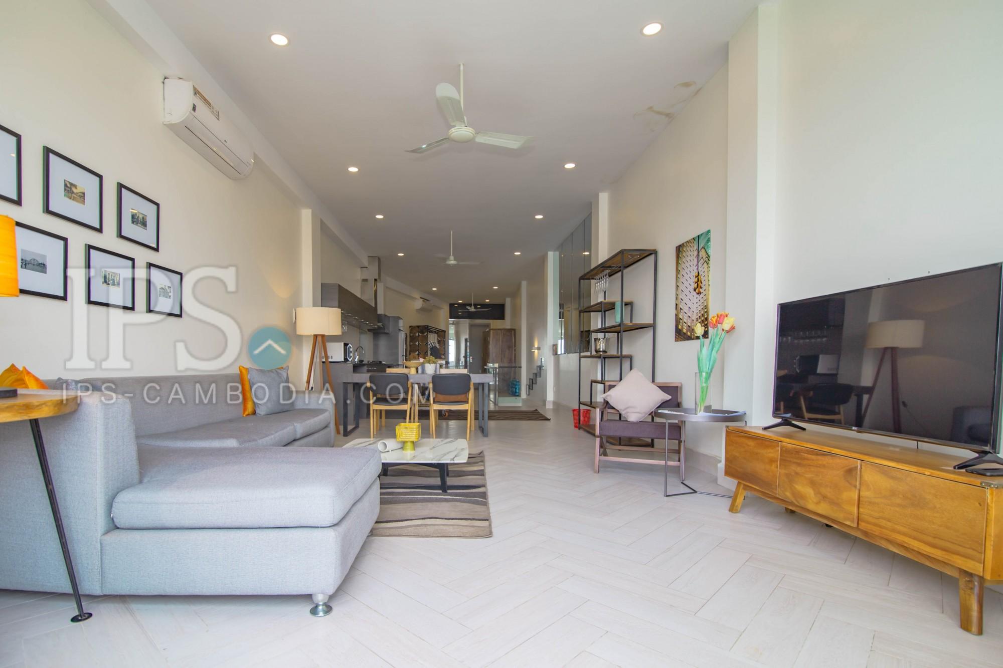 2 Bedroom Apartment For Rent - Riverside, Phnom Penh